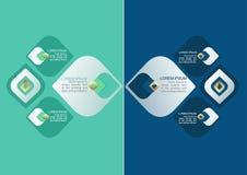 Decoratief het Patroonelement van Thailand voor Infographic-Ontwerp Stock Fotografie