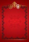 Decoratief kader Stock Foto
