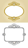 Decoratief kader Royalty-vrije Stock Fotografie