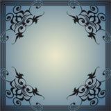 Decoratief kader in de stijl van wijnoogst Royalty-vrije Stock Foto's