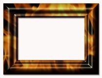 Decoratief kader voor een foto Stock Fotografie