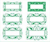 Decoratief kaderpatroon Royalty-vrije Stock Afbeelding