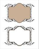 Decoratief kaderpatroon Stock Foto's