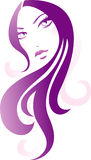 Decoratief meisje Stock Afbeeldingen