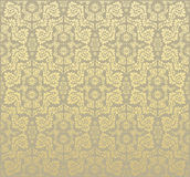 Decoratief naadloos bloemenornament Royalty-vrije Stock Foto