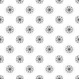Decoratief naadloos bloempatroon stock illustratie