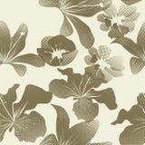 Decoratief naadloos patroon Royalty-vrije Stock Afbeeldingen