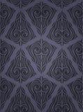Decoratief naadloos patroon Stock Afbeelding