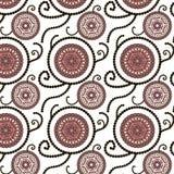 Decoratief naadloos patroon Stock Fotografie