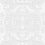 Decoratief naadloos patroon Royalty-vrije Stock Afbeelding