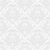 Decoratief naadloos patroon Royalty-vrije Stock Foto