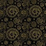 Decoratief Naadloos Patroon Als achtergrond Royalty-vrije Stock Afbeelding