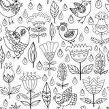 Decoratief Naadloos Patroon Als achtergrond Royalty-vrije Stock Fotografie