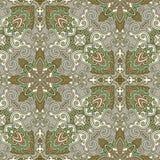 Decoratief naadloos patroon. Eps-8. Stock Foto