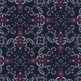 Decoratief naadloos patroon. Eps-8. Royalty-vrije Stock Afbeeldingen