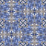 Decoratief naadloos patroon. Eps-8. Royalty-vrije Stock Afbeelding
