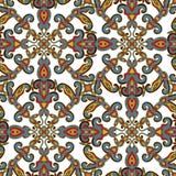 Decoratief naadloos patroon. Eps-8. Stock Afbeelding