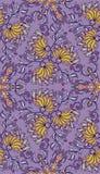 Decoratief naadloos patroon Eps-8 Royalty-vrije Stock Afbeeldingen