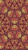 Decoratief naadloos patroon Eps-8 Royalty-vrije Stock Afbeelding