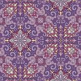 Decoratief naadloos patroon Eps-8 Stock Foto