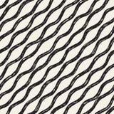 Decoratief naadloos patroon met krabbellijnen Royalty-vrije Stock Foto