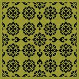 Decoratief naadloos patroonornament Stock Foto's