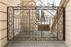 Decoratief net in oude stijl Stock Foto