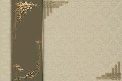 Decoratief ontwerp als achtergrond Stock Fotografie