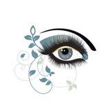Decoratief oog   royalty-vrije illustratie