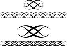 Decoratief ornament voor ontwerp vector illustratie
