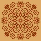 Decoratief patroon Stock Fotografie