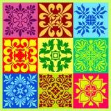 Decoratief patroon Stock Foto's