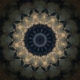 Decoratief patroon, doorweven lijnen, de combinatie fragmenten van beelden Stock Afbeelding