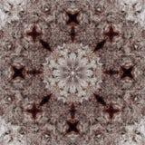 Decoratief patroon, doorweven lijnen, de combinatie fragmenten van beelden Royalty-vrije Stock Foto's