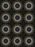 Decoratief patroon, doorweven lijnen, de combinatie fragmenten van beelden Royalty-vrije Stock Foto