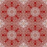 Decoratief patroon, doorweven lijnen, de combinatie fragmenten van beelden Stock Foto