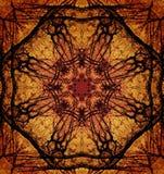 Decoratief patroon, doorweven lijnen, de combinatie fragmenten van beelden Royalty-vrije Stock Afbeeldingen