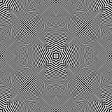 Decoratief Patroon Gestreepte lijnentextuur Royalty-vrije Stock Afbeelding