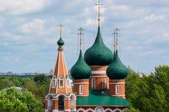 Decoratief patroon op Kerk van Aartsengel Michael Royalty-vrije Stock Foto