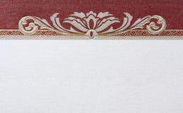 Decoratief patroon op papier stock afbeelding