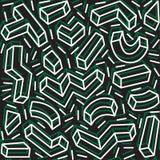 Decoratief patroon voor de achtergrond, de tegel en de textiel vector illustratie