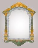Decoratief raamkozijn Stock Foto's