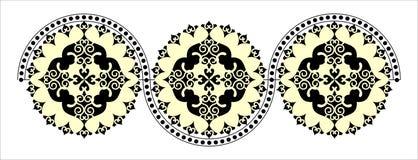 Decoratief rond patroon Royalty-vrije Stock Foto