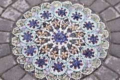 Decoratief rotspatroon Stock Afbeeldingen