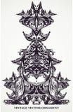 Decoratief uitstekend ontwerp. stock fotografie