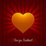 Decoratief Valentine Heart Design Het winkelen markeringen en pictogrammen De geïsoleerde Illustratie van het Ornamenthart EPS10 Stock Foto's