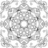 Decoratief Vectorpatroon Royalty-vrije Stock Foto