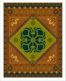 Decoratief vectortapijtpatroon Royalty-vrije Stock Afbeeldingen