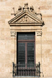 Decoratief venster stock afbeeldingen
