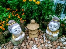 Decoratief voor tuin Stock Afbeeldingen